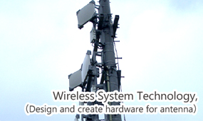 Wireless system technology, (Design and create hardware for antenna)